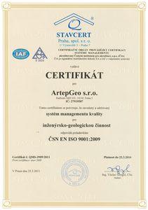 Certifikát managementu
